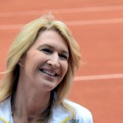 Steffi Graf spielt kaum noch Tennis (Foto)