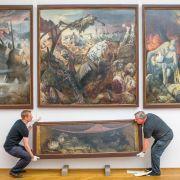 Neues über Dix' Monumentalwerk «Der Krieg» (Foto)