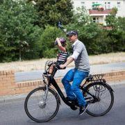 Fahrrad muss zum Kindersitz passen (Foto)