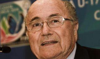 Blatter kritisiert WM-Gastgeber Brasilien (Foto)