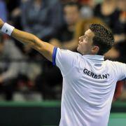 Überraschung durch Kamke - Davis-Cup-Team führt (Foto)