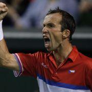 Davis Cup: Tschechien führt 2:0 - Federer gleicht aus (Foto)