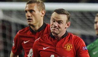 Manchesters Rooney droht Ausfall gegen Bayern München (Foto)