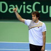 Haas und Kohlschreiber freuen sich für Davis-Cup-Jungs (Foto)