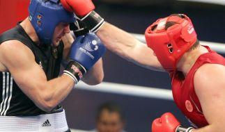 Weltserie: Deutsche Boxstaffel im Viertelfinale raus (Foto)
