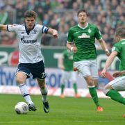 Werder 1:1 gegen Schalke (Foto)