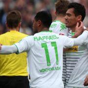 Gladbach souverän - Nürnberg nach 0:2 in höchster Not (Foto)