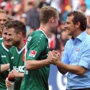 Augsburg-Coach Weinzierl: Keine Gespräche mit Bayer 04 (Foto)