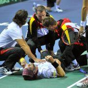 Deutsches Davis-Cup-Doppel verliert nach großem Kampf (Foto)