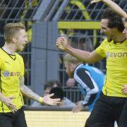BVB feiert Arbeitssieg: 2:1 gegen Wolfsburg (Foto)