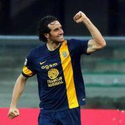 Inter nur 2:2 gegen Bologna - Luca Toni in Torlaune (Foto)