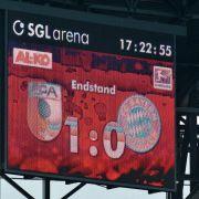 FC Bayern: Serien und Rekordjagden enden in Augsburg (Foto)
