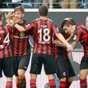 Frankfurter Derbysieg gegen Mainz verschafft Luft (Foto)