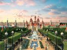Illustration des Moskauer «Disneyland». (Foto)