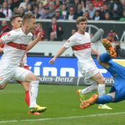 VfB siegt dank Joker Maxim: Tor und Vorlage gegen SCF (Foto)