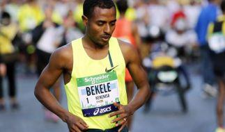 «Merci Paris»: Debütant Bekele gewinnt Marathon-Debüt (Foto)