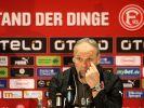 Düsseldorf-Coach Köstner weiter krankgeschrieben (Foto)