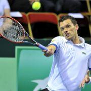 Davis Cup: Kamke gegen Tsonga ohne Chance - 2:2 (Foto)