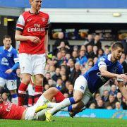 Arsenal unterliegt Everton: Platz vier in Gefahr (Foto)
