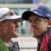 Emotionaler Vettel spricht über Schumacher (Foto)