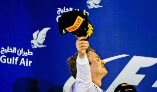 Bahrain-Zweiter Rosberg: «Es war ein massiver Kampf» (Foto)