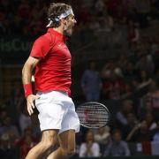 Davis-Cup-Halbfinale komplett: Auch Schweiz weiter (Foto)