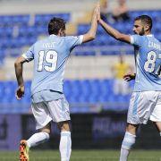 Siege für Lazio und Florenz ohne Klose und Gomez (Foto)