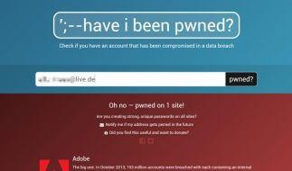 Wurde ich das Opfer eines Hacker-Angriffs? (Foto)