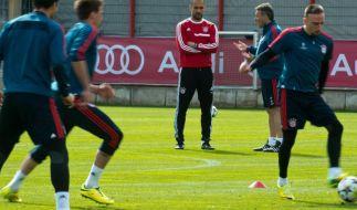 Bei den Bayern «kribbelt» es vor dem ManUnited-Spiel (Foto)
