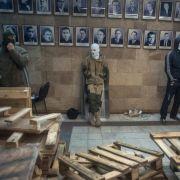 Abspaltungsversuche im Osten der Ukraine verschärfen Spannungen (Foto)
