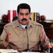Venezuelas Präsident will mit Regierungsgegnern verhandeln (Foto)