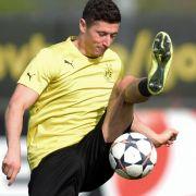 BVB droht Aus gegen Real - Hoffnungsträger Lewandowski (Foto)