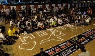 Banges Warten: Kann der Flugschreiber von Flug MH370 noch rechtzeitig aufgespürt werden? (Foto)