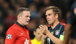 Wayne Rooney vs. Philipp Lahm: Wer zieht ins Halbfinale der Champions League ein? (Foto)