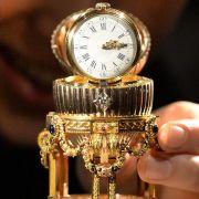«Schatz der Kunstgeschichte» - Fabergé-Ei in London (Foto)