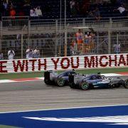 Formel-1-Duell Hamilton vs. Rosberg geht weiter (Foto)