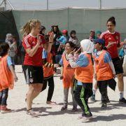 Bayern-Frauen nach Besuch im Flüchtlingscamp tief bewegt (Foto)