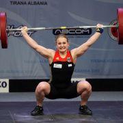 Gewichtheberin Kusterer mit deutschem Rekord EM-Sechste (Foto)