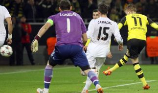 BVB verpasst Wunder gegen Real - K.o. trotz 2:0-Sieg (Foto)