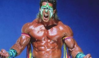 Ein Superstar der Wrestling-Welt: The Ultimate Warrior. (Foto)
