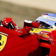 Ferrari bricht Test nach Chassisschaden ab (Foto)