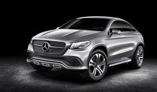 Mercedes bringt Coupé-Version der M-Klasse (Foto)