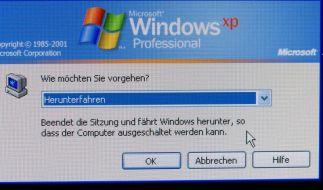 Microsoft schließt zum letzten Mal Sicherheitslücken in Windows XP (Foto)