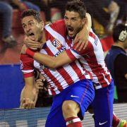 Atlético Madrid feiert Halbfinale - Barça nach 0:1 raus (Foto)