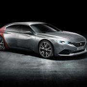 Peugeot-Experimente: Haifischhaut und Ebenholz (Foto)