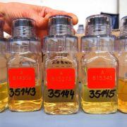 Dopingkontrolleure können sich glücklich schätzen - sie verfügen über massenweise Urin.