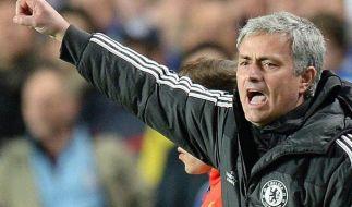 Mourinho muss zahlen: Geldstrafe nach Schiri-Kritik (Foto)
