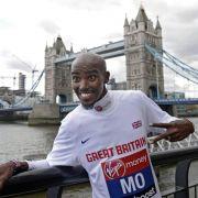 Farahs Marathon-Debüt wird zum Medienspektakel (Foto)