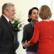 Präsident Gauck trifft Aung San Suu Kyi (Foto)