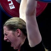 Gewichtheberin Schroth wird EM-Fünfte (Foto)